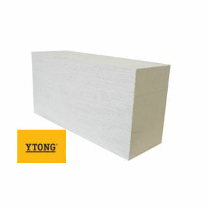 Блок стеновой D500 Ytong D500, 625x375x250мм, белый