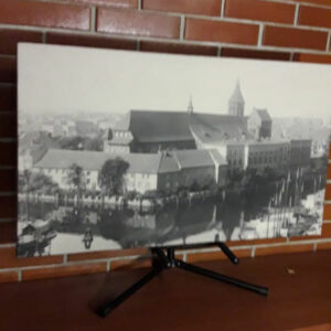 """Картина из мраморного песка """"Кафедральный собор Кенигсберга"""""""
