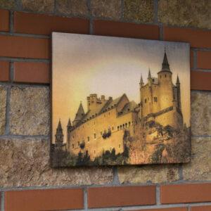 """Картина на гибком камне """"Замок Сеговия"""""""