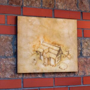 "Картина из гибкого камня ""ДМФО28"""