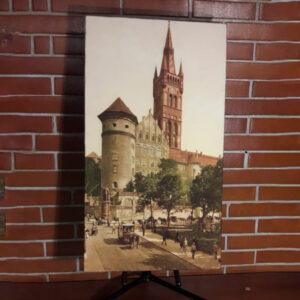 """Картина из мраморного песка """"Королевский замок начала 20 века"""""""