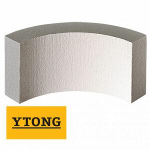 Дугообразный блок R 500/600 D500, 100×250мм, бетон