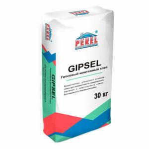 Гипсовый клей GIPSEL для монтажа ПГП, ГКЛ, ГВЛ